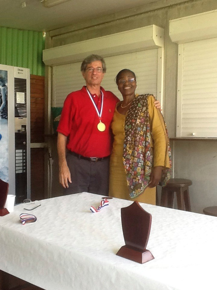Gluck Charles Médaille d'or en production TSV avec Robertine