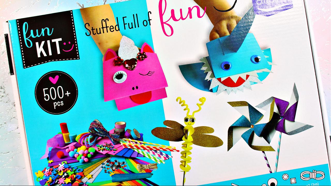 Vaessen Creative - fun Kit - Kreativset - Bastelset - Bastelbedarf