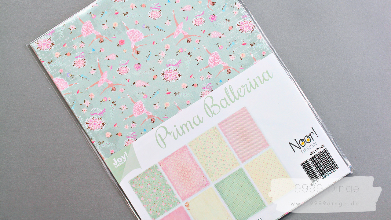 Joy!Crafts - Bastelpapier - Ballerina - Bastelbedarf - A4