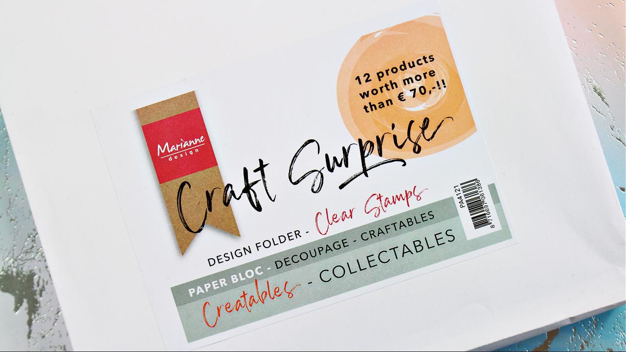 Marianne design - Wundertüte - Wert 70 Euro - Kreativset - Bastelset - Bastelbedarf