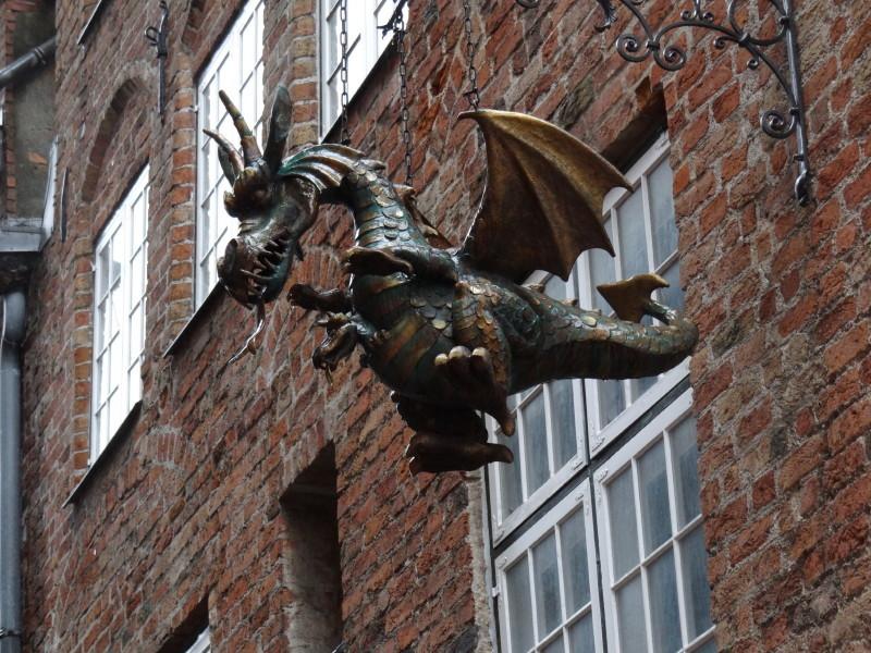 auf unserem Ausflug in Lübeck gesehen
