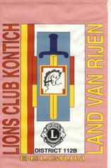 Click op de club-wimpel voor de MD112 website van LIONS CLUB KONTICH