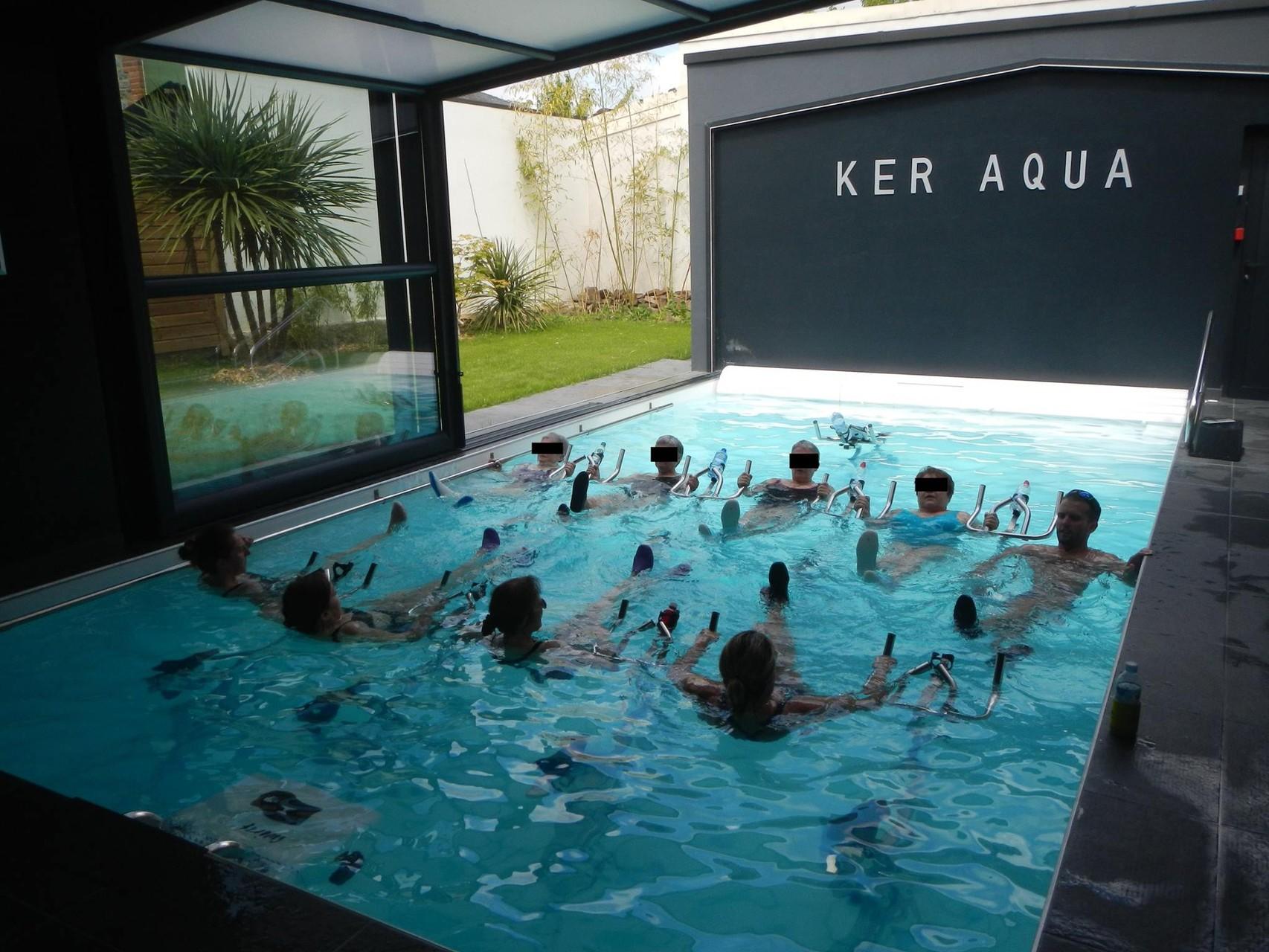 abdos piscine rennes aquabike keraqua