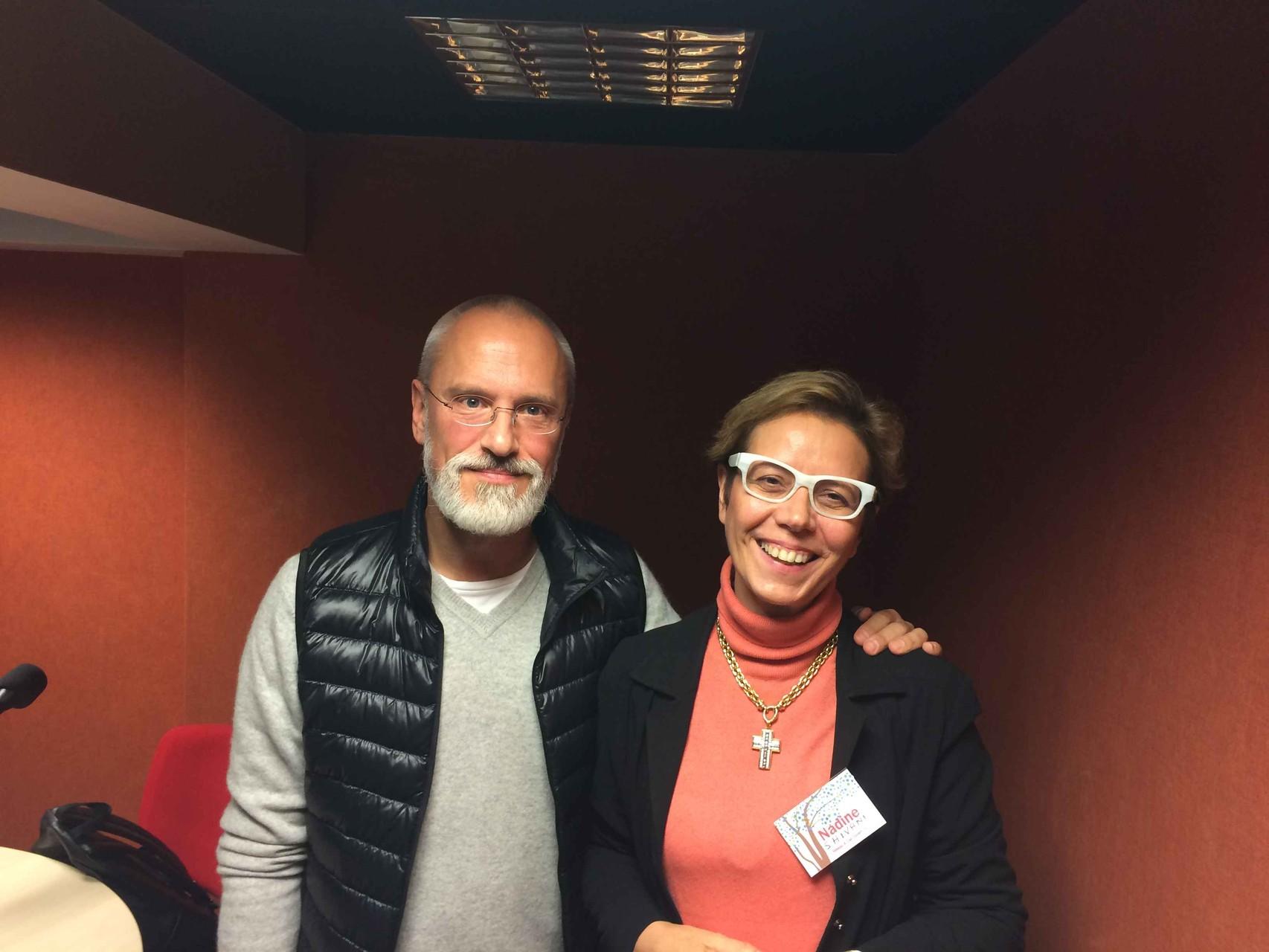 Shivani avec Thierry Janssen