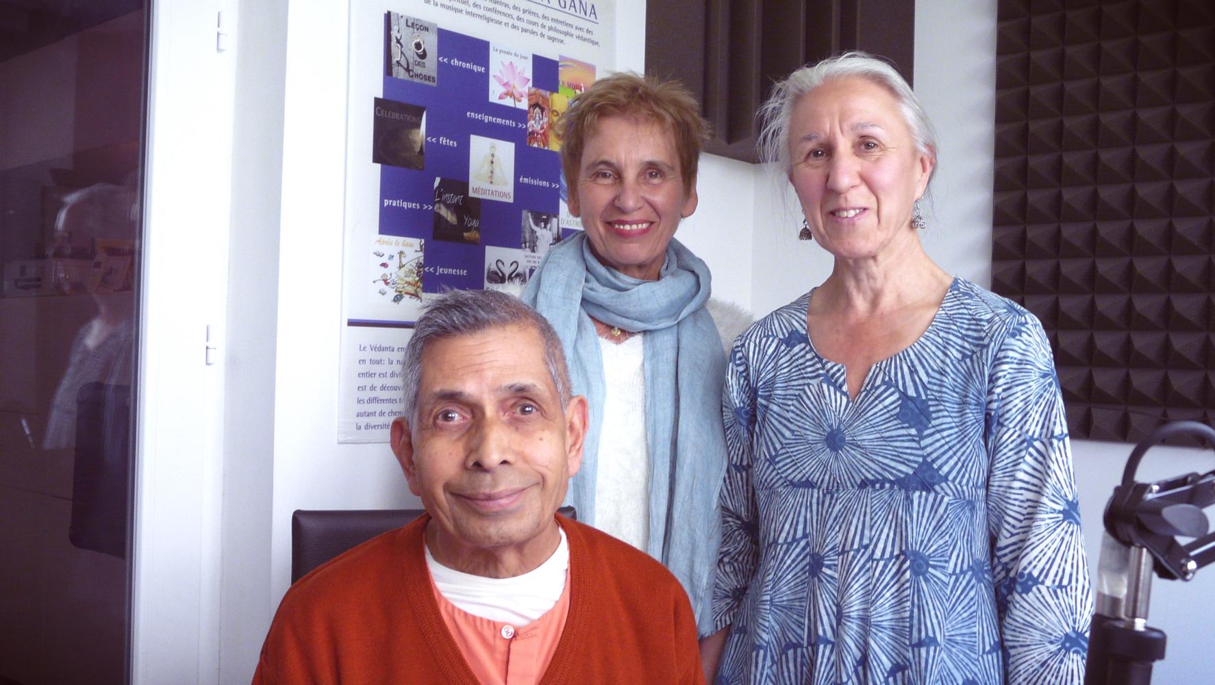 Swami Veetamohananda, Martine et Ulrika