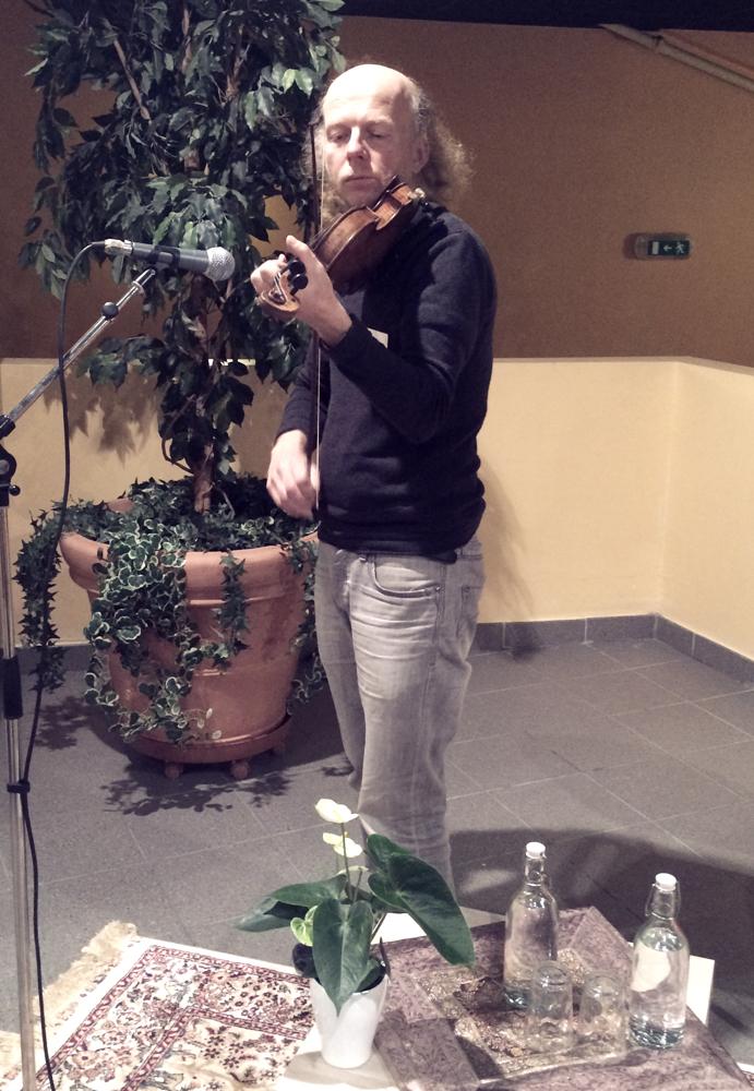 Le coin des artistes avec Jean Marc Vignoly