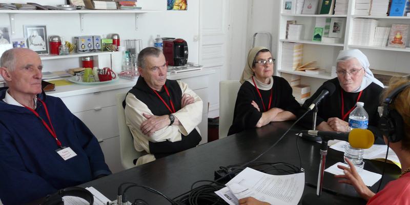 Sr Marie Pinlou, Sr Solange, Fr Jean-Pierre, Fr Benoit Billot