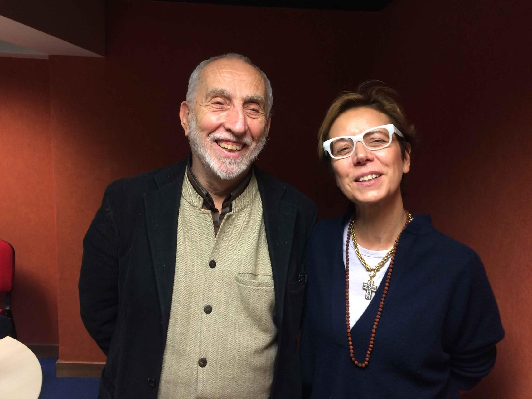 Shivani avec Alain Chevillat