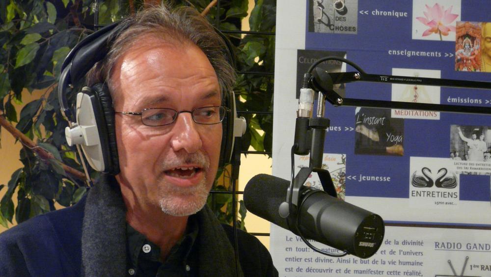 15 mn d'entretien avec Miche Maxime Egger