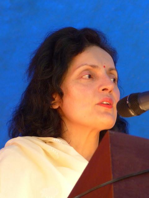 S. Exc. Madame Ruchira KAMBOJ  Ambassadeur UNESCO,  Délégué permanent - Sous le chapiteau