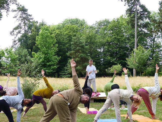 Claude Icard trad.  Sri Mahesh (FFHY) - Au jardin japonais