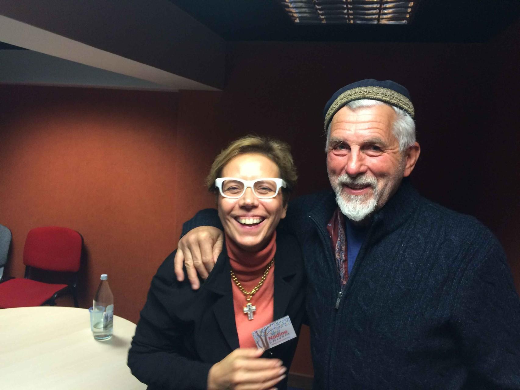 Shivani avec Pierre Yves Albrecht