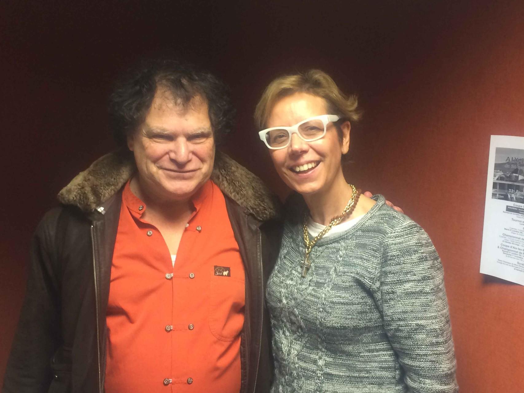 Shivani avec Marc Sokol
