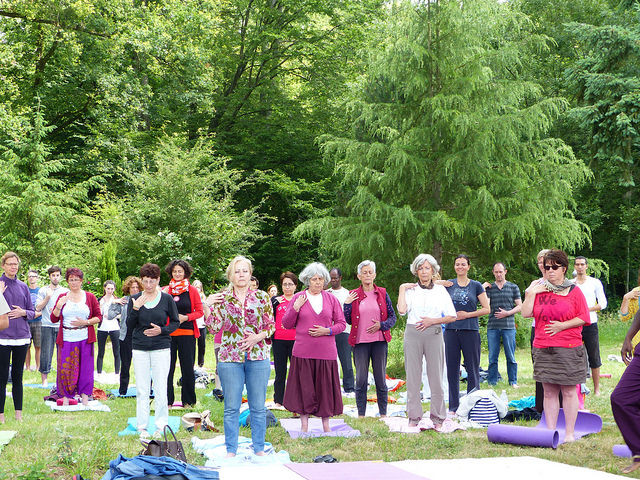 Jacques Veyra trad. Yoga du Pharaon - Au jardin japonais