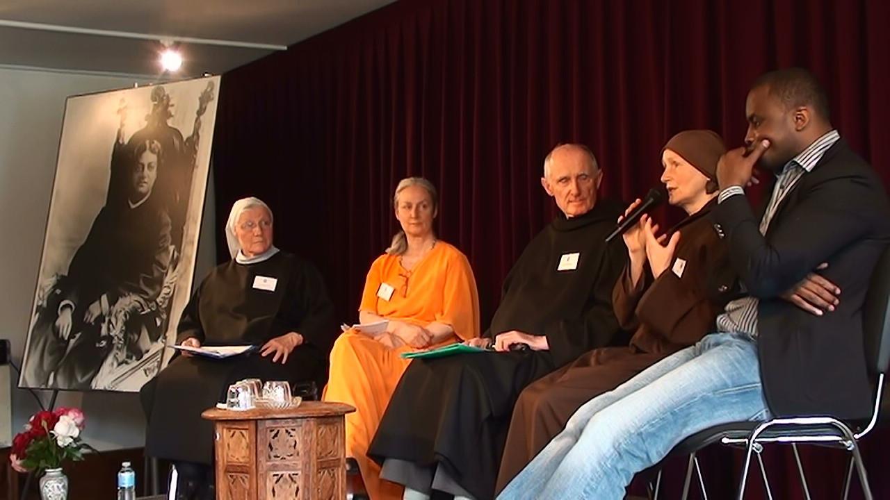 S Marie Pinlou, Swamini Umananda, Fr Benoit Billiot, Sœur Dao Nghiem et Ousmane Timera