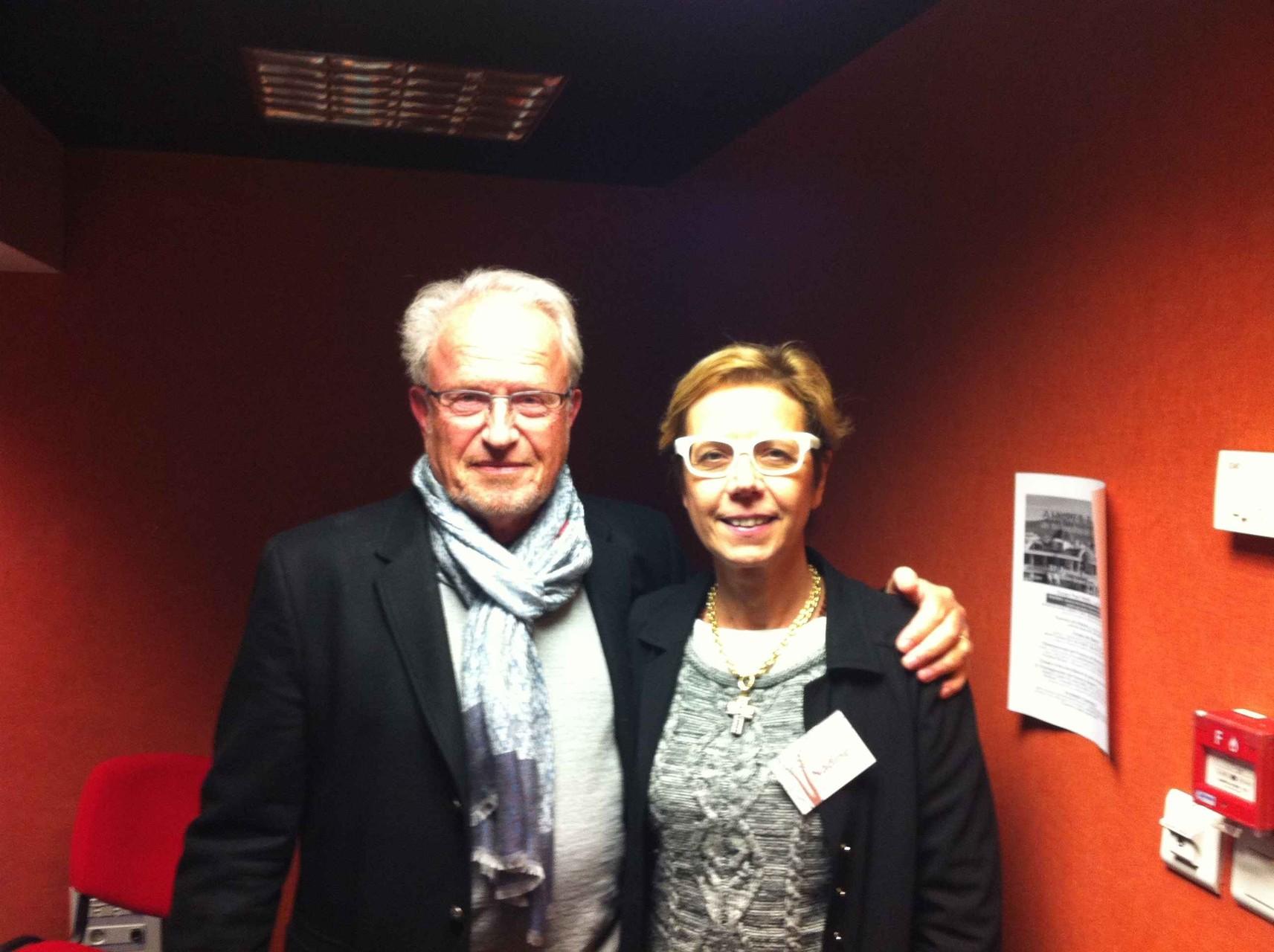 Shivani avec Andreas Freund