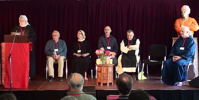 Père Michel Saulnier, Sr Marie Pinlou, Fr Daniel Pont et Sr Solange Rault