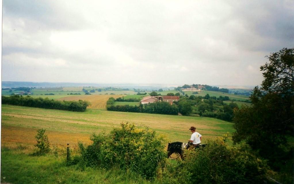 En vue de Saint Pierre du Mont