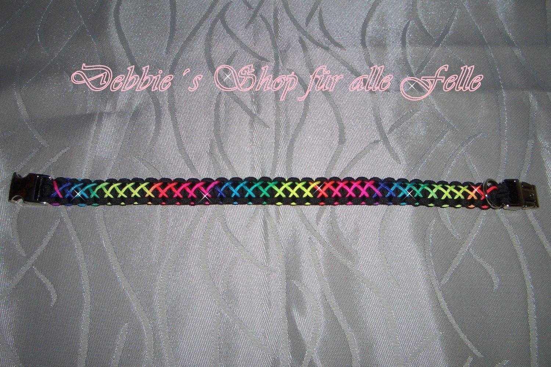 black / rainbow