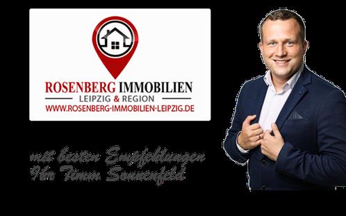 Immobilienmakler Leipzig Wiederitzsch. Hier sehen Sie den Immobilienprofi Timm Sonnenfeld von Rosenberg Immobilien Leipzig. Immobilienbewertung Leipzig Wiederitzsch