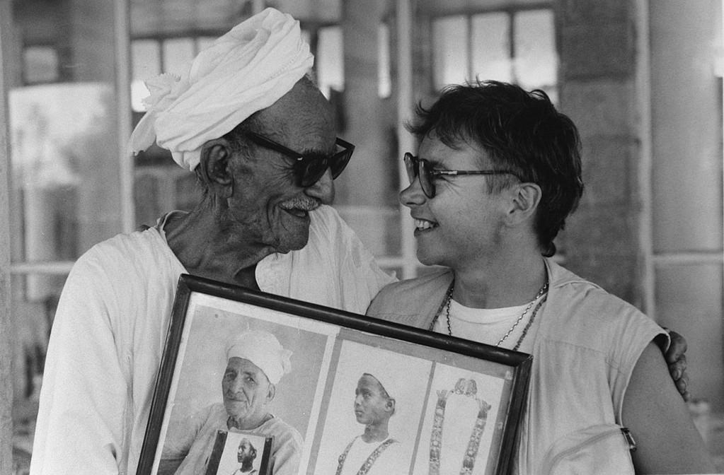 L'homme qui a porté le collier de Touthankamon, Vallée des Rois, Egypte 1994