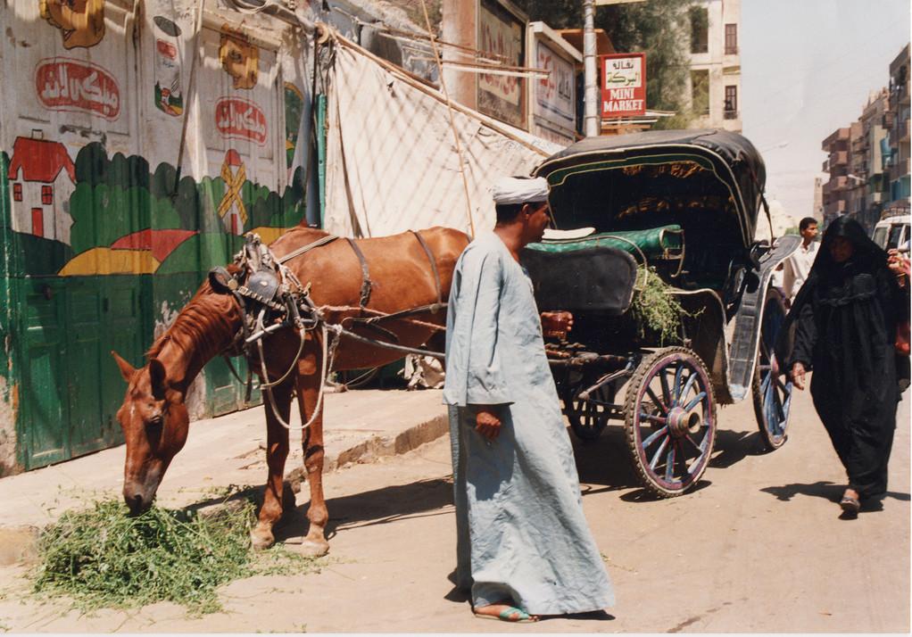 Louxor, Egypte 1996