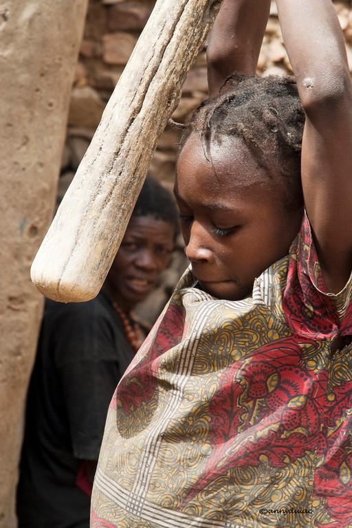La farine de mil devient rapidement rance et ne peut être conservée longtemps.