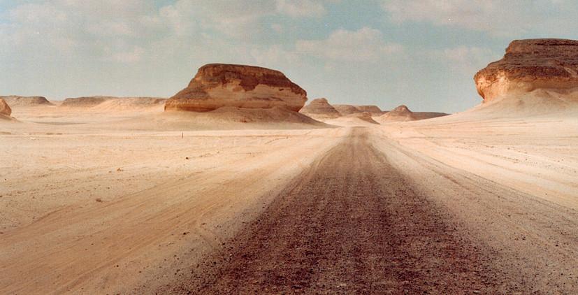 Désert blanc, Farafra Egypte 1996
