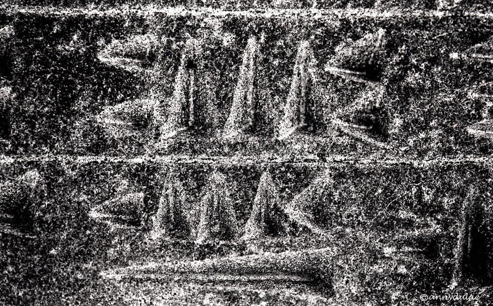 Ecriture cunéiforme Van Turquie 1991