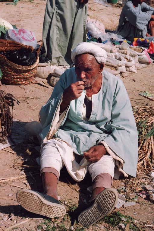 Le Marché, Vallée des Rois, Egypte 1996