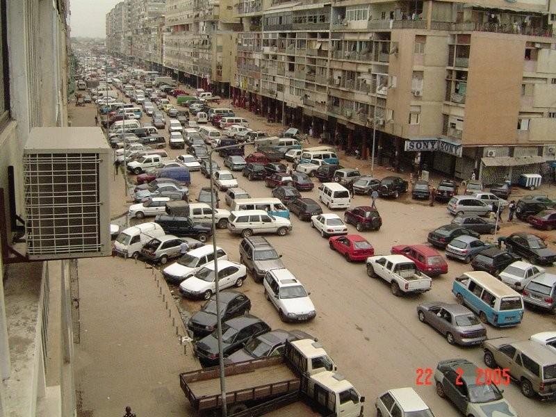 Современная Луанда (7-9 млн.жителей)