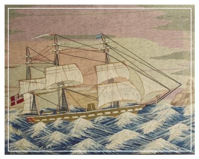 Large woolwork or woolie British