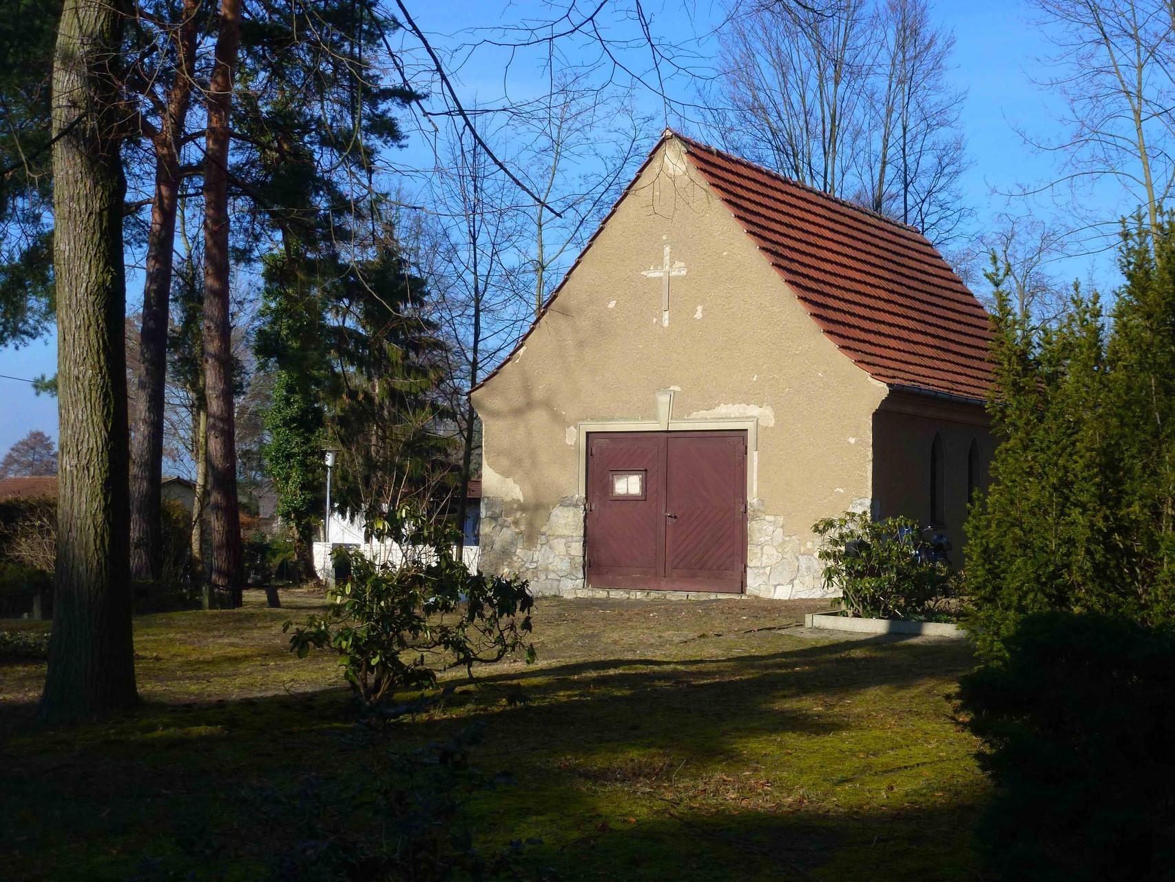 ehemalige Aussegnungshalle auf dem alten Friedhof