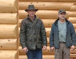 Inhaber Martin Werner (im Bild links)  und unser Partner aus Kanada Bruce Mooney.