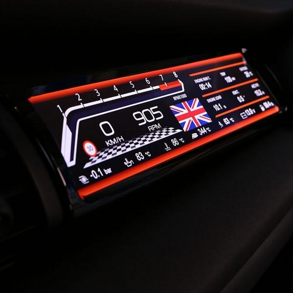 Beifahrer Display MINI F5x