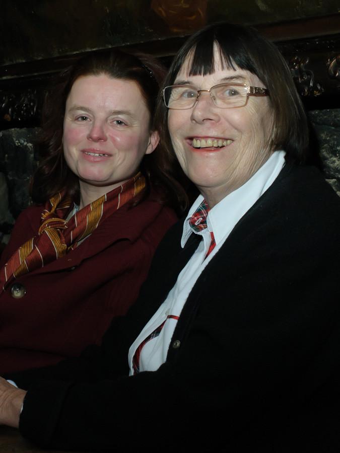 Gäste Martina und Katja Füg