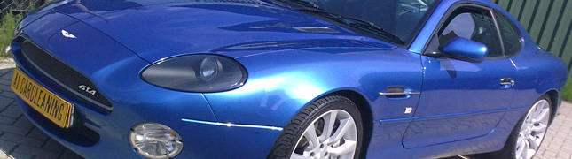 Aston Martin DB9, autopoetsen en detailing plus glasscoating | A1 Car Cleaning