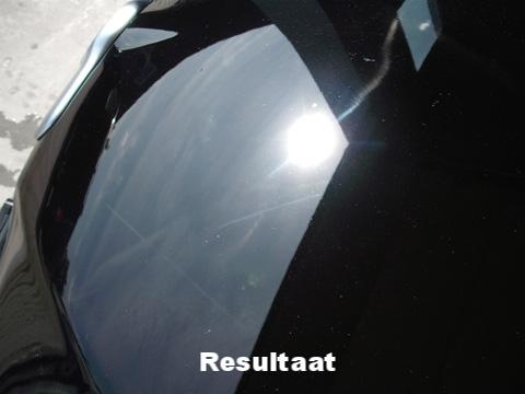 Door de lak te polijsten wordt de lak kristalhelder en sprakelend zonder swirls | A1 Car Cleaning
