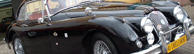 Jaguar XK160, klassieker detailen, autopoetsen, lak polijsten, poetsen | A1 Car Cleaning