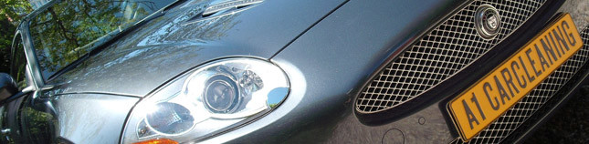 Jaguar XK8 coupe, autopoetsen, polijsten en interieurreinging | A1 Car Cleaning