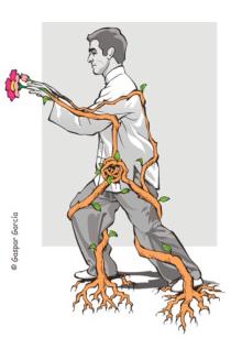 Raccorder mouvements corps supérieur et inférieur