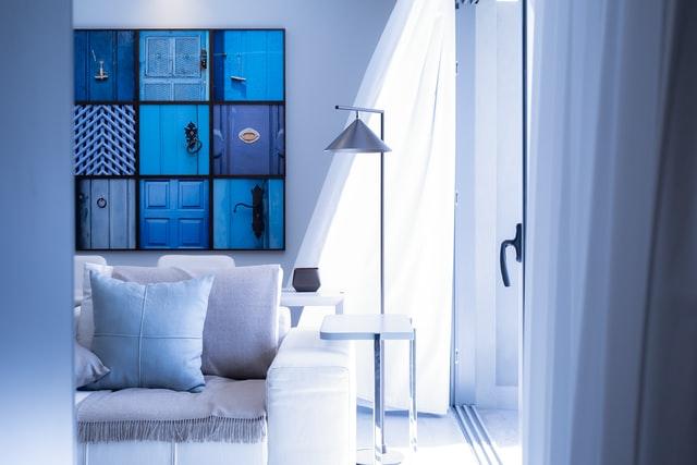 Hoe schilder je de woonkamer?