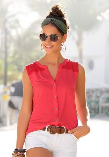 OTTO Dames tops mouwloos - Trendy dameskleding online