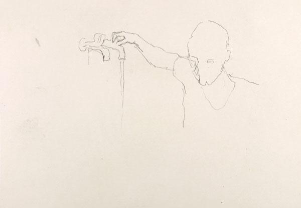 1  |  Ohne Titel  |  2008  |  Graphit auf Papier  |  29,5 x 21 cm