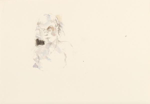17  |  Ohne Titel  |  2012  |  Aquarell, Graphit auf Papier  |  21 x 29,7 cm