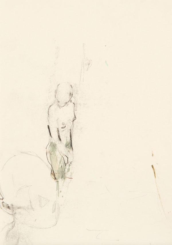 18  |  Ohne Titel  |  2011  |  Graphit auf Papier  |  29,7 x 21 cm