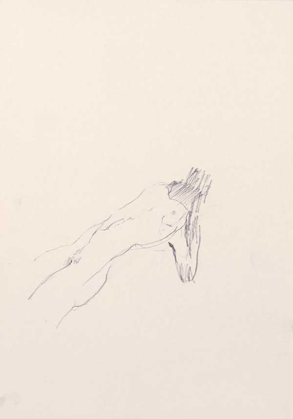 9  |  Ohne Titel  |  2007  |  Graphit auf Papier  |  29,5 x 21 cm