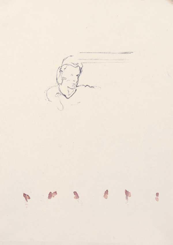4  |  Ohne Titel  |  2007  |  Graphit, Aquarell auf Papier  |  29,5 x 21 cm