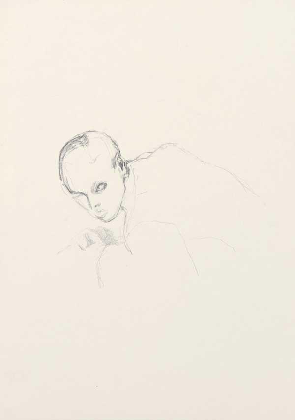 2  |  Spurlos  |  2008  |  Graphit auf Papier  |  29,5 x 21 cm