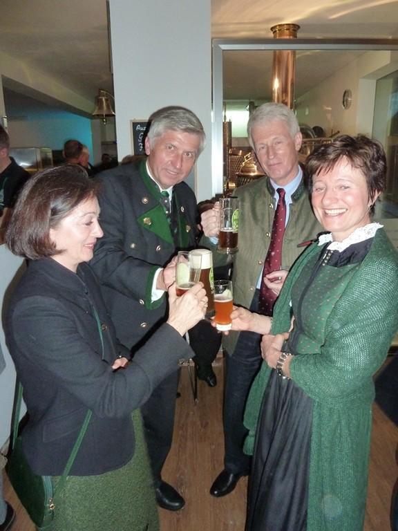 BH Kreutzwiesner mit Gattin & Fam.Fischböck